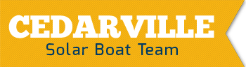 Cedarville University's Solar Boat Team